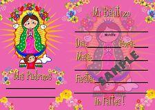 Vigencita Plis Invitaciones para llenar 12 pz con Sobres BAUTIZO/1a COMUNION