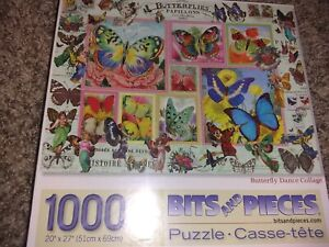 bits and pieces puzzle 1000, Butterflies, New