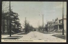 Postcard Huntington Indiana/In East Franklin St Family Houses/Homes view 1907