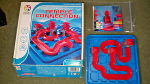 TEMPLE CONNECTION - ONE PLAYER PUZZLE GAME - SMART GAMES