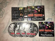 Playstation 1 - FEAR EFFECT - PAL (PS1/2/3) Complete