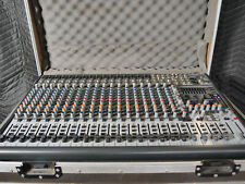 Behringer Eurodesk Sx2442Fx-Pro 24-Channel Mixer + Road Case! Excellent!