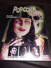 Popcorn (DVD, 2001) super rare oop hard to find classic horror