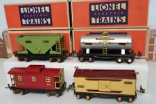 Vintage Prewar Lionel O Gauge No.235E Freight Car Set 653 654 655 657