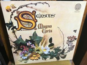 MAGNA CARTA seasons 1970's UK VERTIGO SPACESHIP REISSUE STEREO VINYL LP