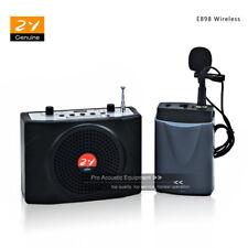 Portable Voice Amplifier Megaphone Loudspeaker AMP PA Wireless Mic Teach Coaches