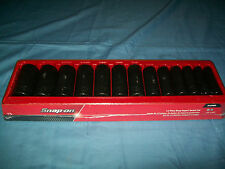 "NEW Snap-on™ 1/2"" Drive 12-point 3/8"" - 1 1/4"" DEEP IMPACT Socket Set 313SIMD"