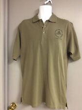 NEW w/TAG ROCK and ROLL HALL OF FAME—-GREEN POLO SHIRT—--S—M     (U)