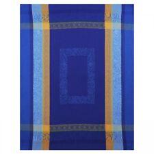 French Jacquard 100% Cotton Dish Towel - Lea Blue