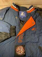 Vintage University of Virginia Cavaliers Starter Pullover Jacket UVA Medium