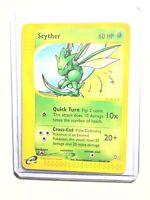 SCYTHER - 57/147 - Aquapolis - Uncommon - Pokemon Card - NM