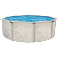 """Complete Ocean Mist 18' x48"""" Round Above Ground Pool Package"""