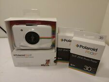 Polaroid Snap 10.0MP Instant Print Digital Camera White with 60 film - IOB