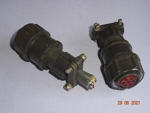 Steckerausführung als Bu 7- polig, 2PM russisch , 2 Stück RFT / FWB