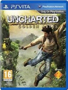 Uncharted Golden Abyss - PS VITA Game. *** Cartridge Only ***  Fast Dispatch !!