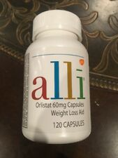 Alli Refill Pack 60mg Capsules w/ 120 Capsules Weight Loss Aid Exp date 03/19-20