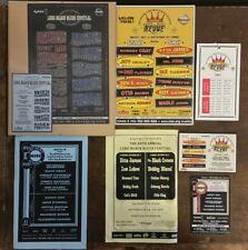 Long Beach Blues Festival Ray Charles Buddy Guy Etta James Tickets Handbills