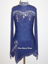 Custom Made To Fit Figure Skating/Dancing/ Baton/ Twirling Costume