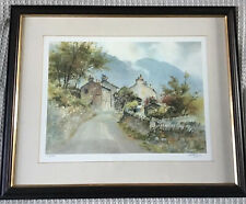 Artist G V Gadd Framed Limited Ed Signed Print Welsh Country Cottages 350/500