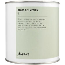 Jackson's Gloss Gel Medium 1 Litre Oil Paint Medium