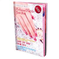 Nail Art Design Book Painting Drawing Decoration Guide Book English German