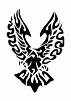 Flying Eagle Tattoo style stencil, 350 micron Mylar not thin stuff  #TaT0017