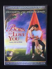 Born To Love You Filipino Dvd