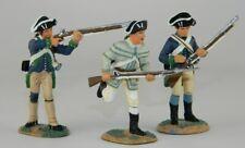 W BRITAINS 17280 - AMERICAN REVOLUTION CONTINENTAL INFANTRY SET