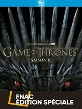 GAME OF THRONES - Saison 8 - EDITION FNAC - COFFRET BLU RAY NEUF SOUS BLISTER