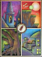 Original Artwork/Sculpture by Tom Taggart for Imagica Novel
