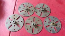 MECCANO 5 Nickel Face Plates  No 109