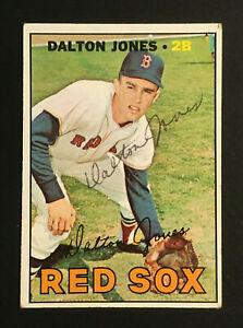 Dalton Jones Red Sox signed 1967 Topps baseball card #139 Auto Autograph 3