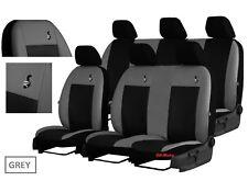 Tailored Eco-Leather Seat Covers VAUXHALL VIVARO 6 seater *REAR BUCKET SEATS*