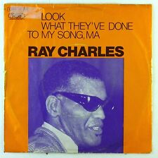 """7"""" Single - Ray Charles What Have They Song / America The Beautiful - S2467"""