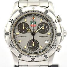 Auth TAG Heuer CE1111 Chronograph Professional 200M Quartz Men's Watch F#75503