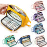 Big Capacity Pencil Pen Case Bag Pouch Holder for Middle School Office College