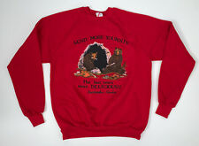 Vintage 80s Alaska Crewneck Sweatshirt Size L/XL Red