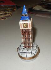 AUTHENTIC LIMOGES BOX big ben clock  france