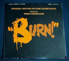 Ennio Morricone OST Burn '74 US STEREO LP Sealed
