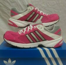 ADIDAS DURAMO 4 TRAINERS PINK WHITE FITNESS RUNNING SHOES SIZE 6 EUR 39
