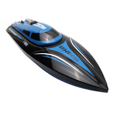 2.4GHz 4CH Remote Control RC Boat Electric W/LCD Screen High Speed Toy Blue