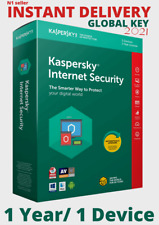Kaspersky Internet Security License Key | 1 Year | 1 Device | Global Key 2021