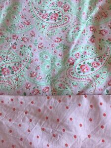 Ikea Cath Kidston Rosali Pink Paisley Spot Single Duvet Set