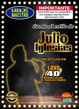 Karaoke Julio Iglesias DVD 40 Best Songs Ever