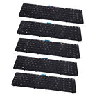 5 Pack US Keyboard Replacements NO POINT For HP ZBOOK 15 G1 G2 17 G1 G2