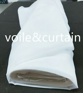 """Voile fabric whole roll 3 colors 300CM (118"""") wide super quality wedding drapes"""