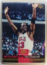 Rare Ceramic Card: 1993 93 Upper Deck Mr. June Michael Jordan #MJ9, #'d /2500