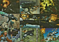 Star Wars - Vehicles - Complete 72 Trading Card Set - Topps 1997 - NM