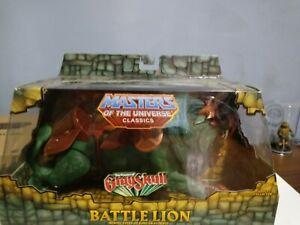 2014 Masters of the Universe Classics (MOTUC) Battle Lion, MIB — Matty Collector