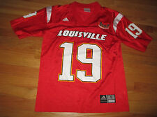 Adidas LOUISVILLE CARDINALS No. 19 BIG EAST CONFERENCE (Yth LG) Football Jersey
